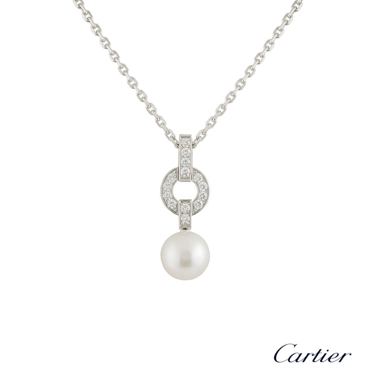 Cartier Himalia Pearl Necklace